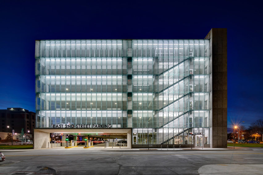 East 2nd Parking by Neumann Monson Architects