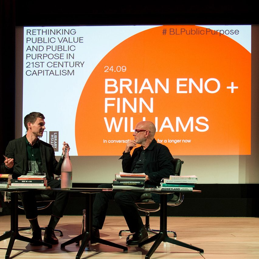 """""""Brian Eno's ideas have unexpected resonance for architecture"""" says Finn Williams"""