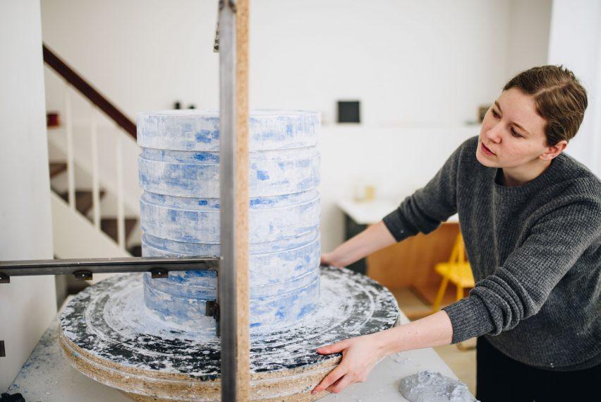 Flensted Mouritzen adapt heritage plaster technique to make sculptures
