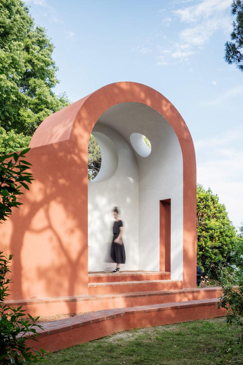 Venice Architecture Biennale Vatican chapel by Flores & Prats