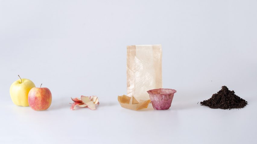 Emma Sicher makes sustainable food packaging from fermented bacteria