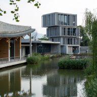 Fuyang Museum by Wang Shu, photography by Jazzy Li