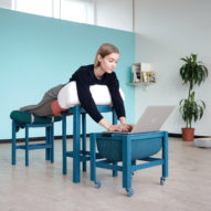 Grafeoiphobia is a furniture collection for desk-shy, bed-happy workers