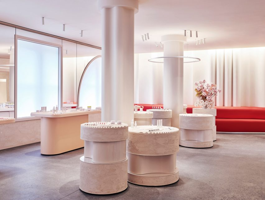 Glossier Flagship by Gachot Studios and PRO
