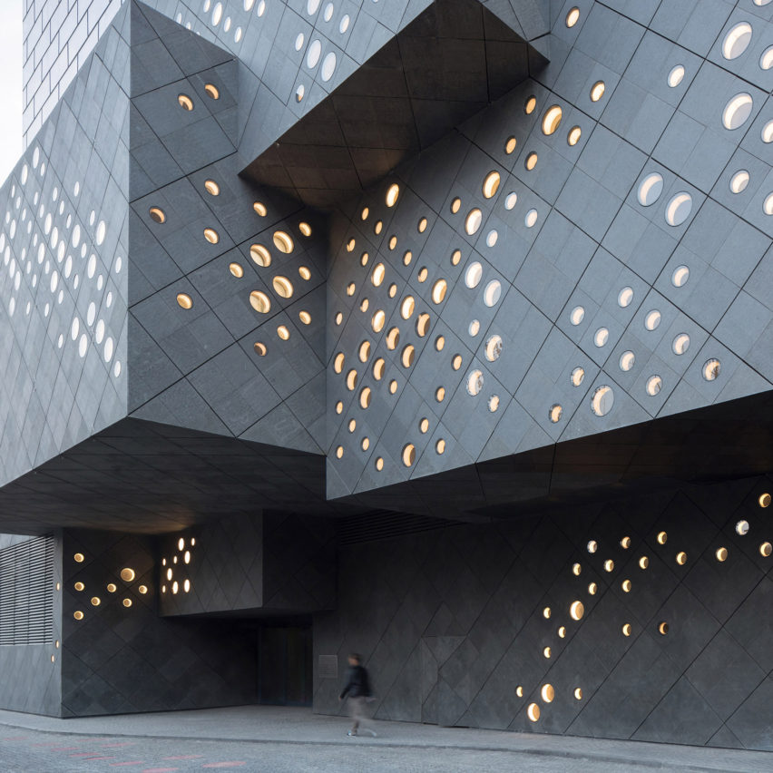Guardian Arts Center by Ole Sheeren, Dezeen's top museums and galleries