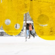 Studio Cadena's Happy installation brightens Flatiron plaza in New York