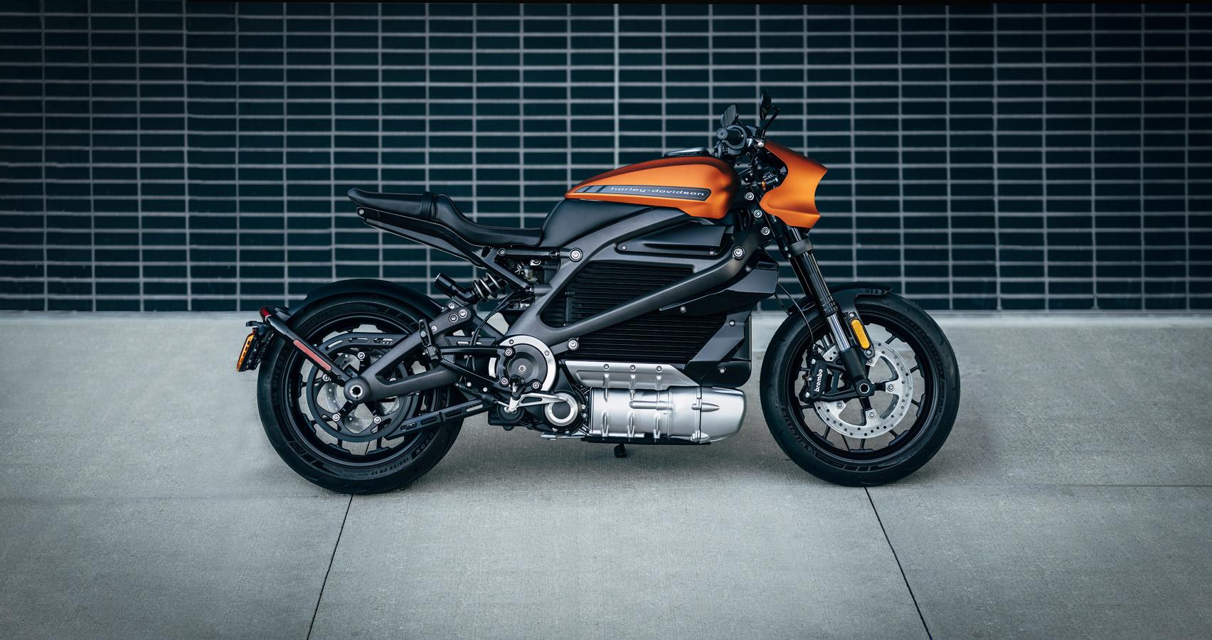 Электрический Harley Davidson