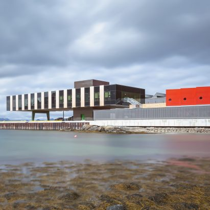 Holmen Industrial Area fishing facility in Norway by Snøhetta