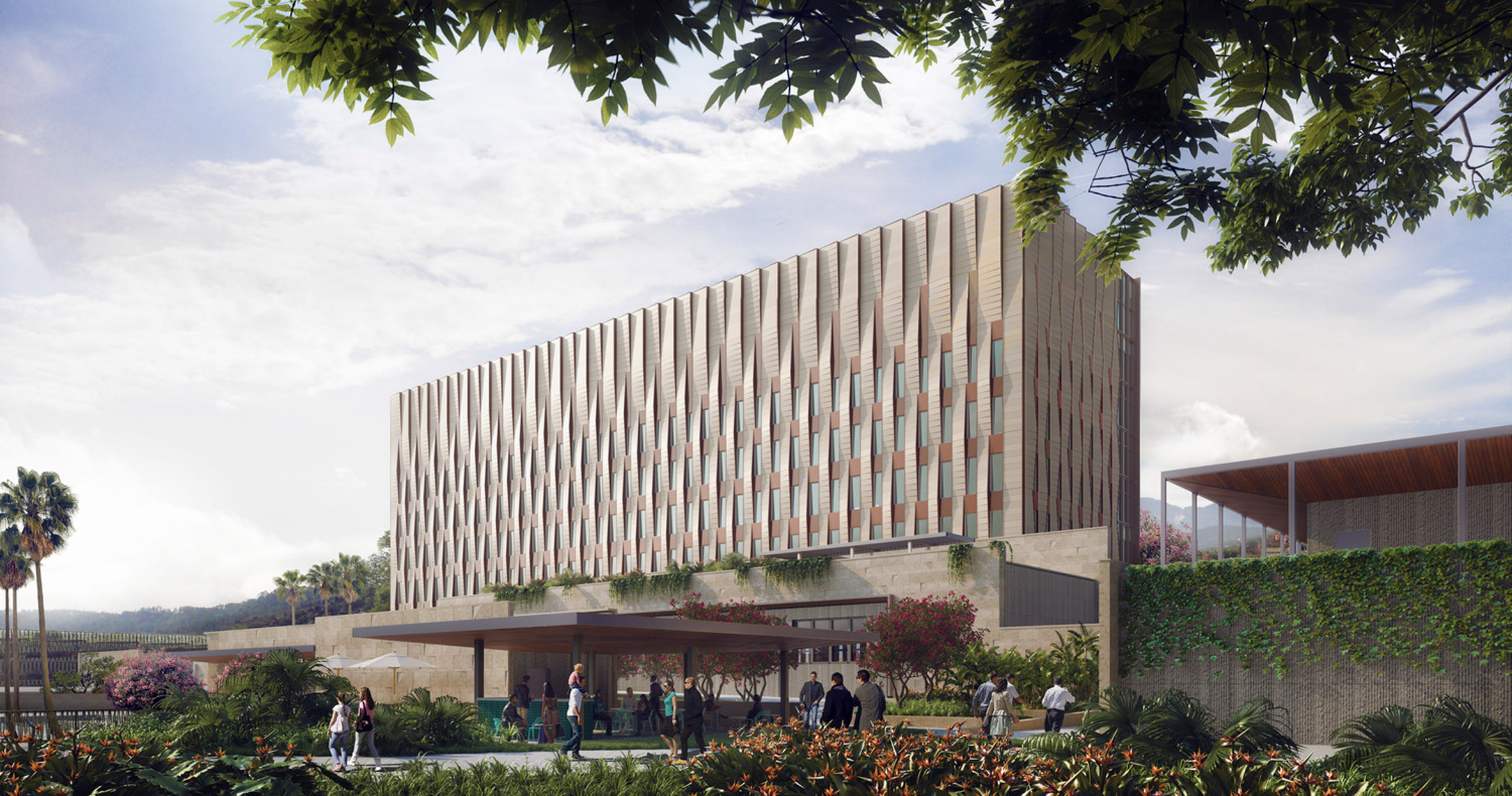 US Embassy for Honduras by SHoP Architects