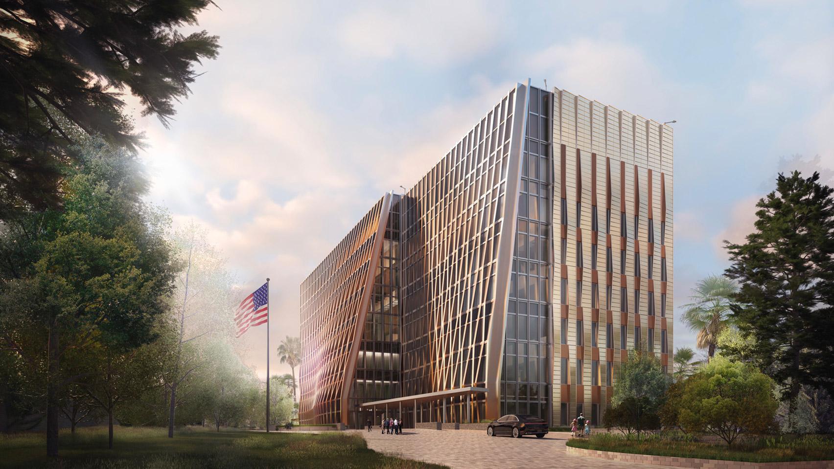 Новое посольство США в Гондурасе