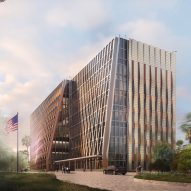 SHoP's Honduras US Embassy evokes mountainous terrain