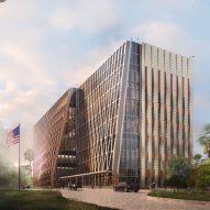 SHoP's Honduras US Embassy evokes mountainous terrain