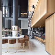 Montreal's Hotel Monville by ACDF Architecture features strict palette