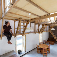 Al Borde turns old property in Ecuador into House of the Flying Beds