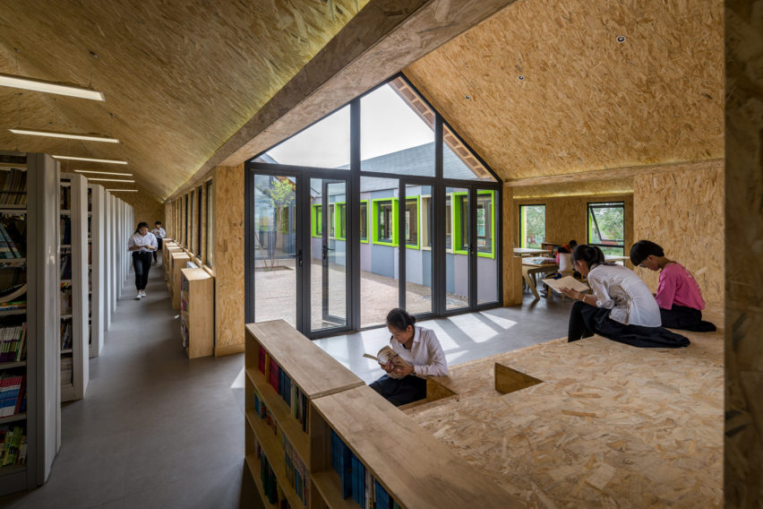 Huxia Star Library by Dots Architects