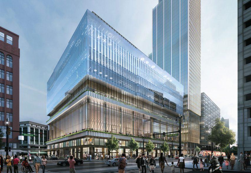 Hudson's Detroit skyscraper by SHoP Architects