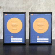 "Dezeen wins two more awards and is praised for ""great journalism"""