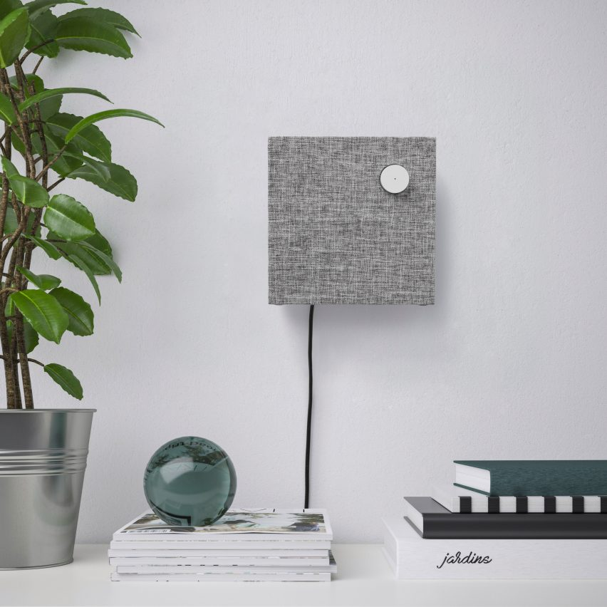 Fabric-covered gadgets: IKEA Eneby speakers