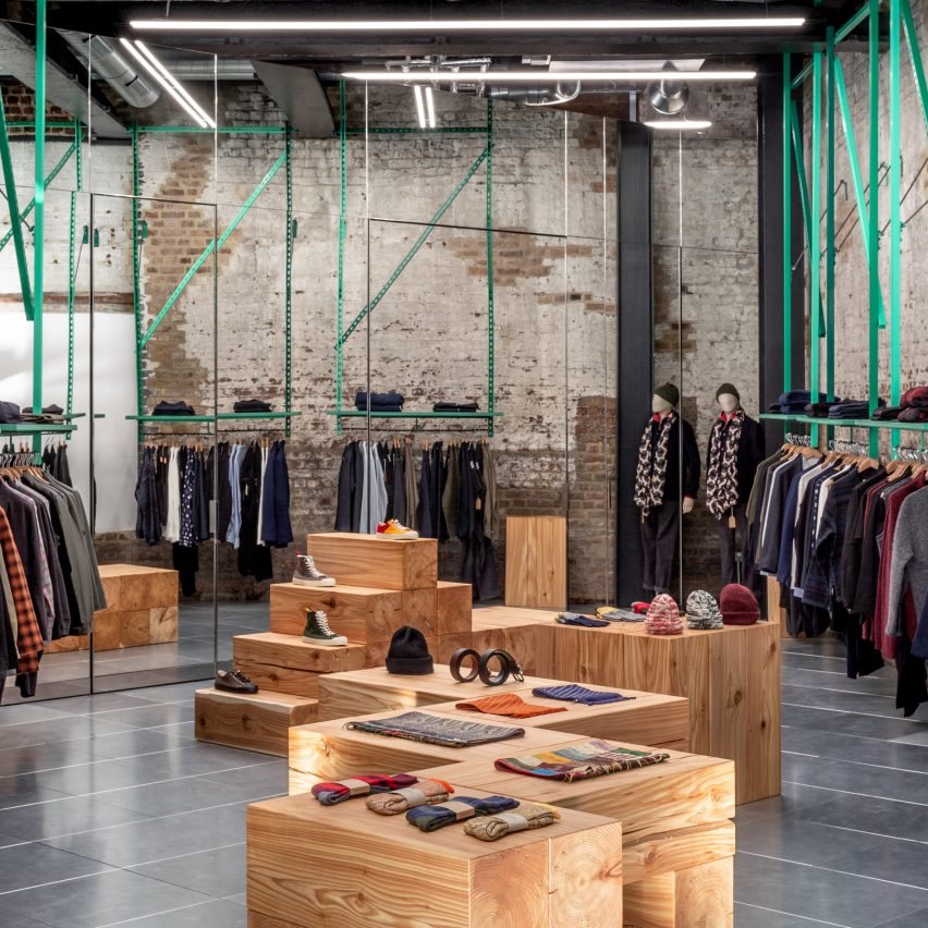 Dezeen roundups: Seven Coal Drops Yard shops to explore