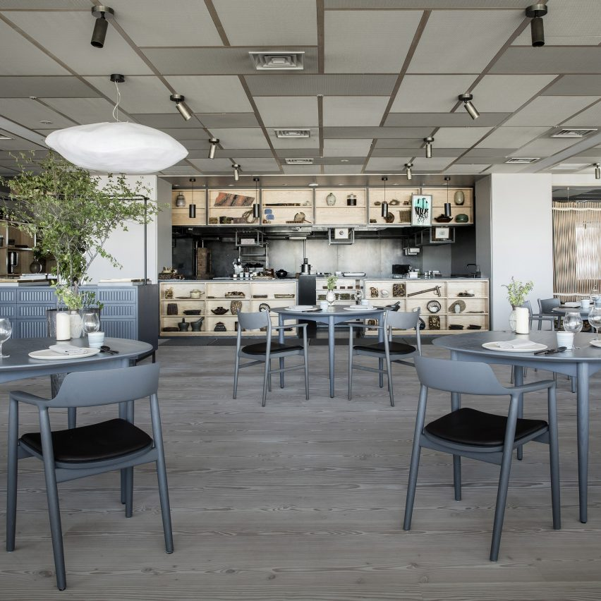Inua restaurant by OEO Studio