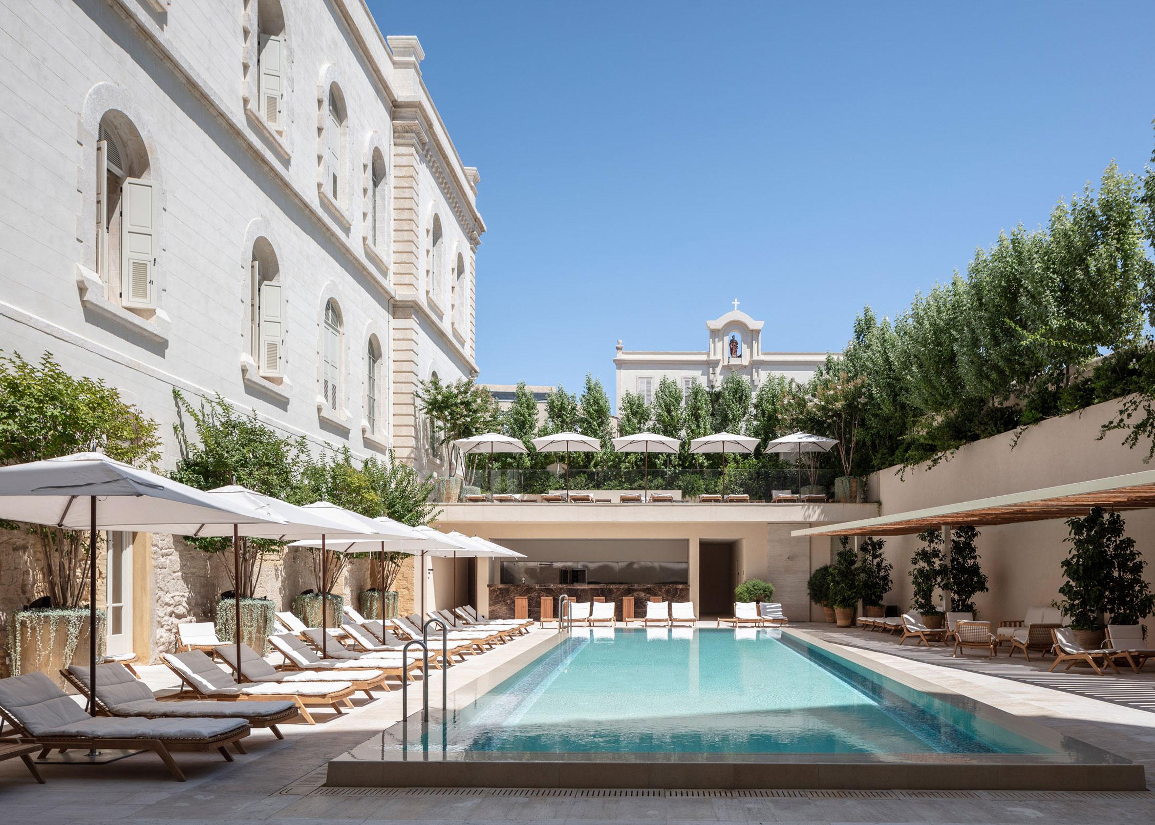 Jaffa Hotel, Israel, by John Pawson