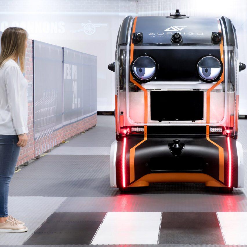 Top 10 transport: Virtual Eye Pod byJaguar Land Rover