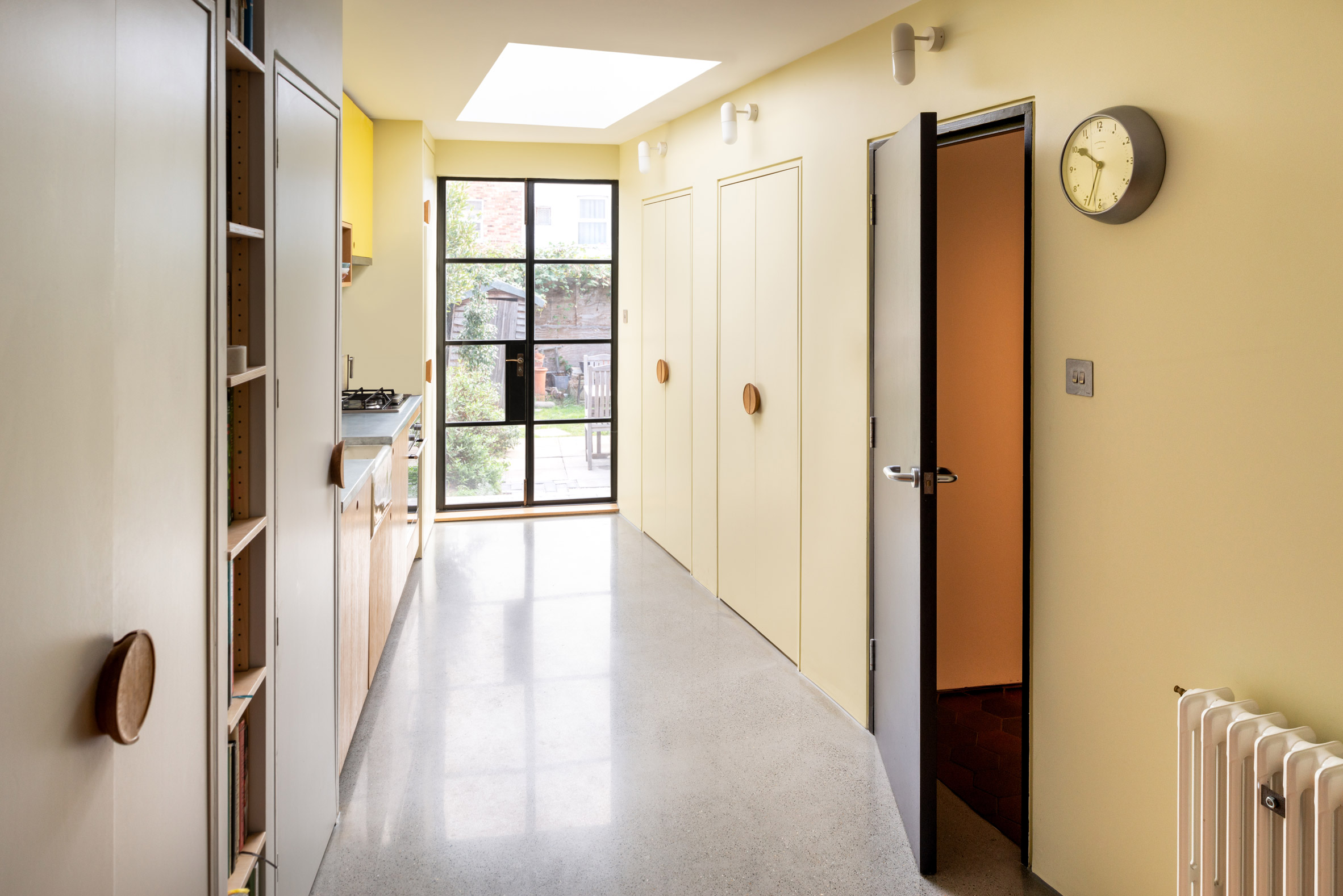 Interior shot of Janus House extension in London by Office S&M