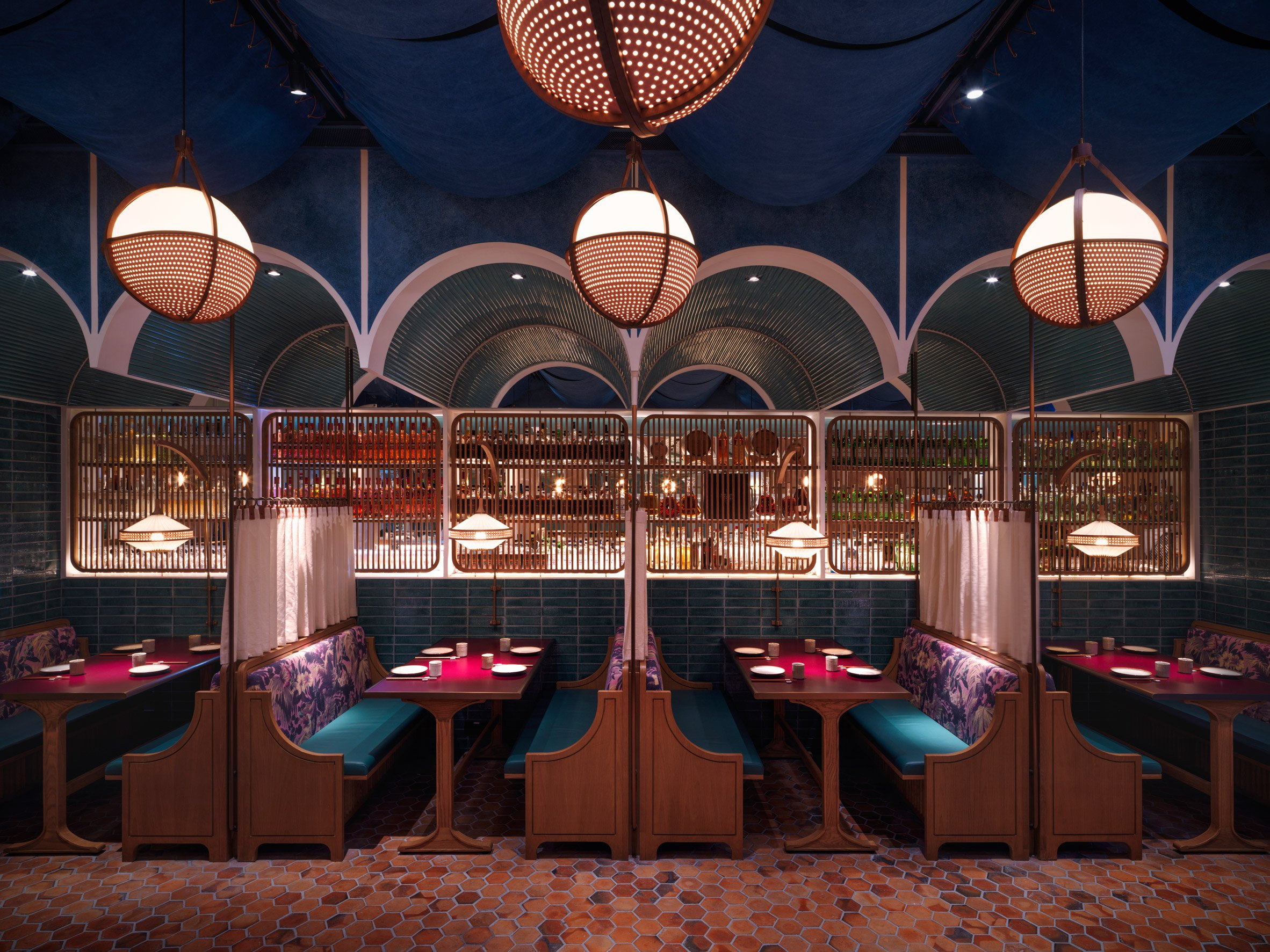 Dim sum restaurant by Linehouse Studio fuses east and west
