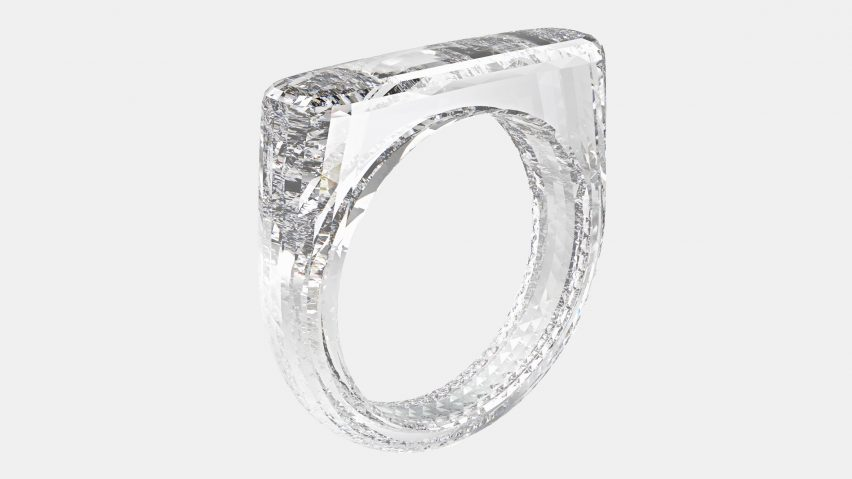 Jony Ive diamond ring designed with Marc Newson