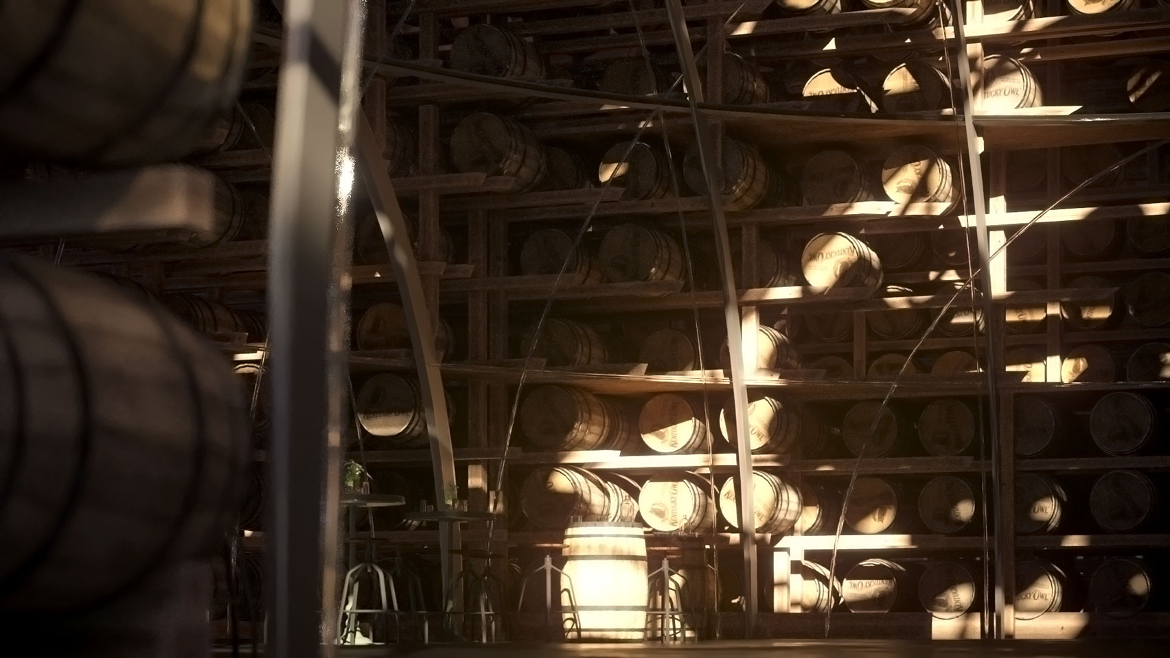 e37db3a2600 Shigeru Ban proposes trio of pyramids for Kentucky Owl whiskey ...
