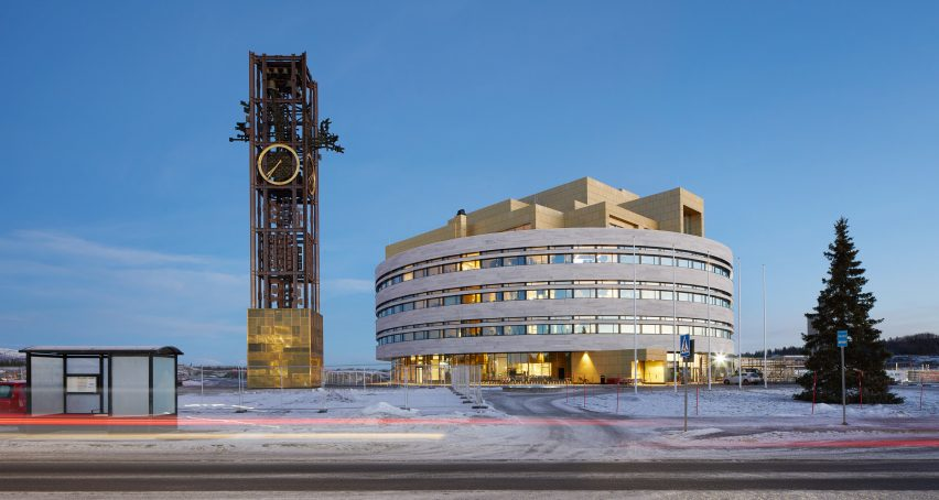 Kiruna Town Hall in Sweden by Henning Larsen