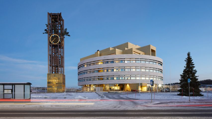 WAF World Building of the Year: Kiruna Town Hall in Sweden by Henning Larsen