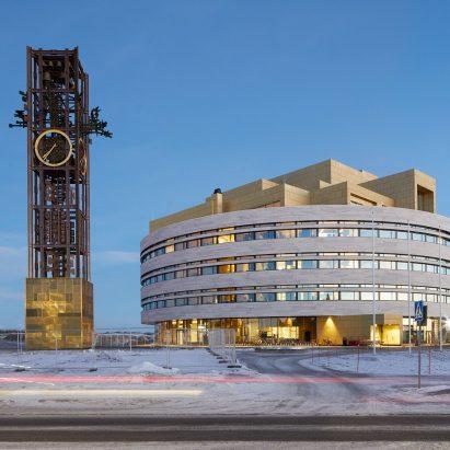 Kiruna Town Hall in Sweden by Henning Larsen