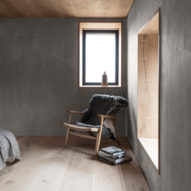 """Kyle House is a remote Scottish holiday home with a """"monastically simple"""" interior"""