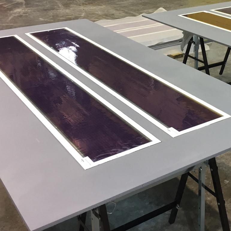 Photovoltaic concrete cladding by LafargeHolcim and Heliatek