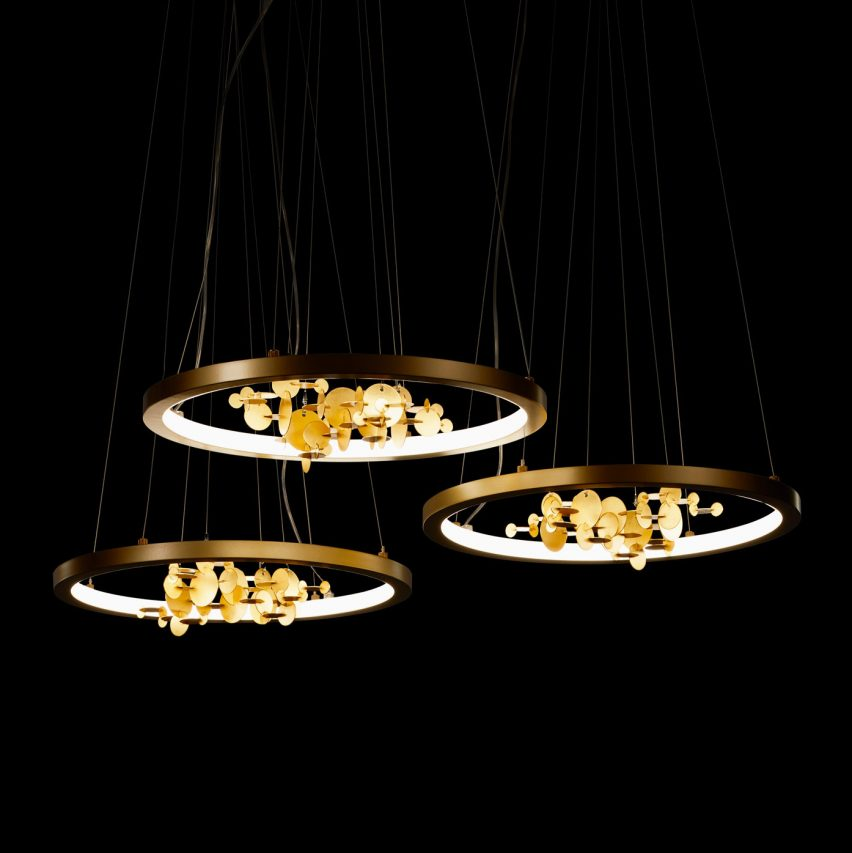 Five designers at Designart Tokyo showed lights