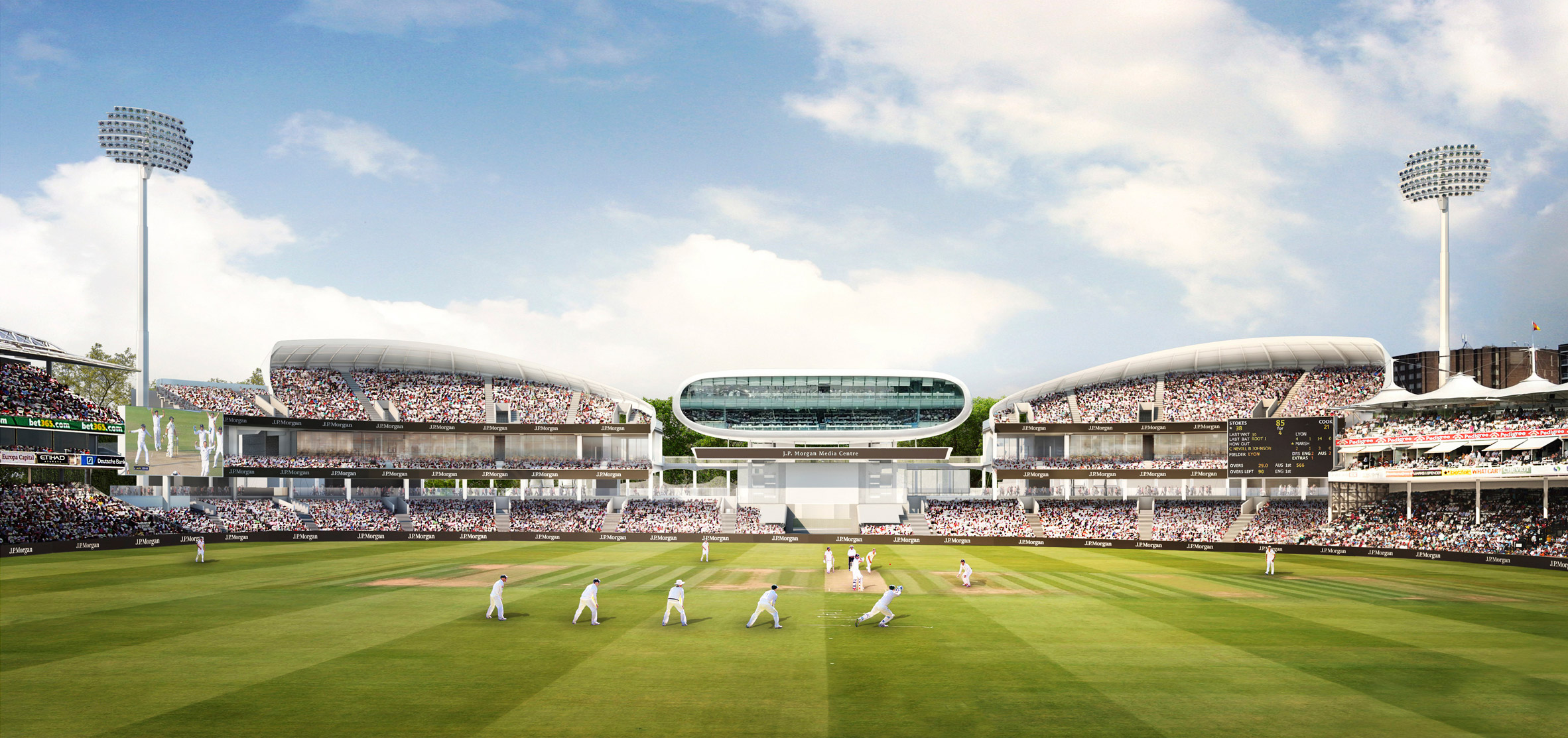 Wilkinsoneyre S Latest Designs For Lord S Cricket Ground Stands