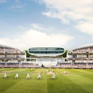 Wilkinson Eyre's latest designs for Lord's Cricket Ground stands revealed