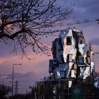 Luma Arles Tower by Frank Gehry