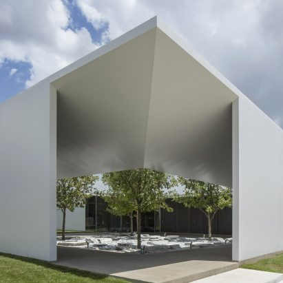 Menil Drawing Institute by Johnston Marklee