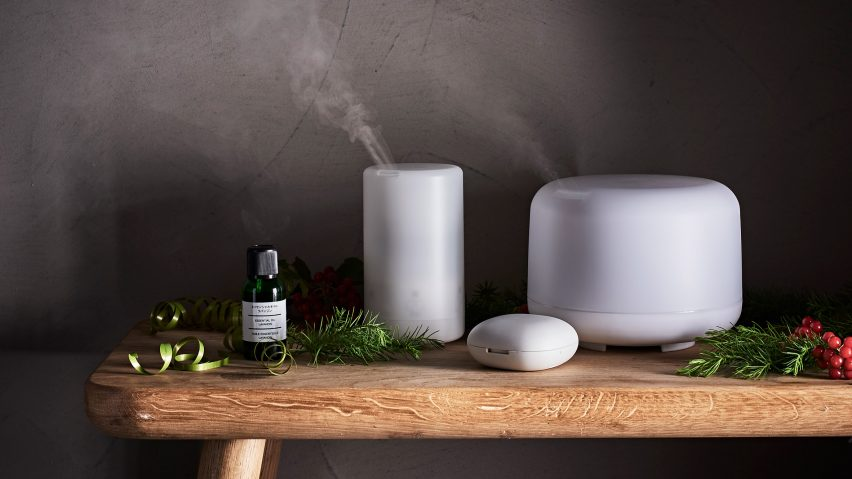 Portable Aroma Diffusers by Muji
