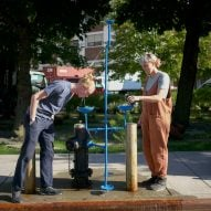 New Public Hydrant by Agency-Agency and Chris Woebken