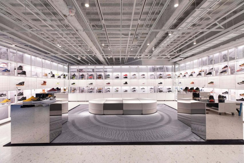 Pigmento tambor Museo Guggenheim  Nike flagship aims to disrupt New York's