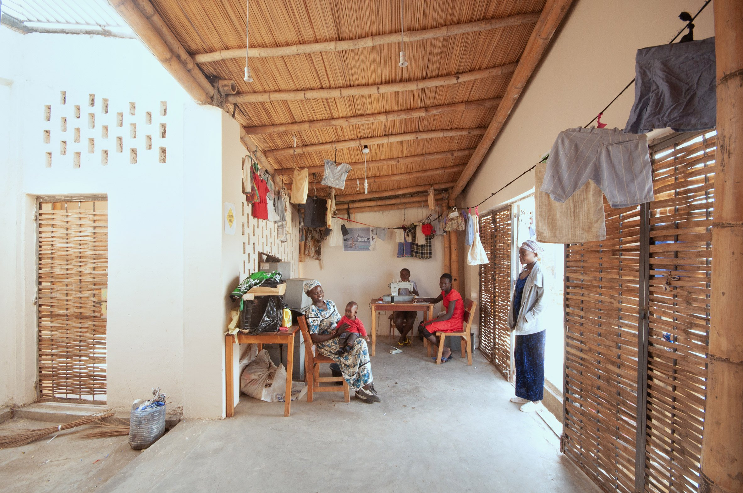 Interiors of the Okana Centre for Change in Kenya, by Laura Katharina Straehle and Ellen Rouwendal