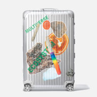 Olafur Eliasson and Rimowa create geological luggage stickers for charity