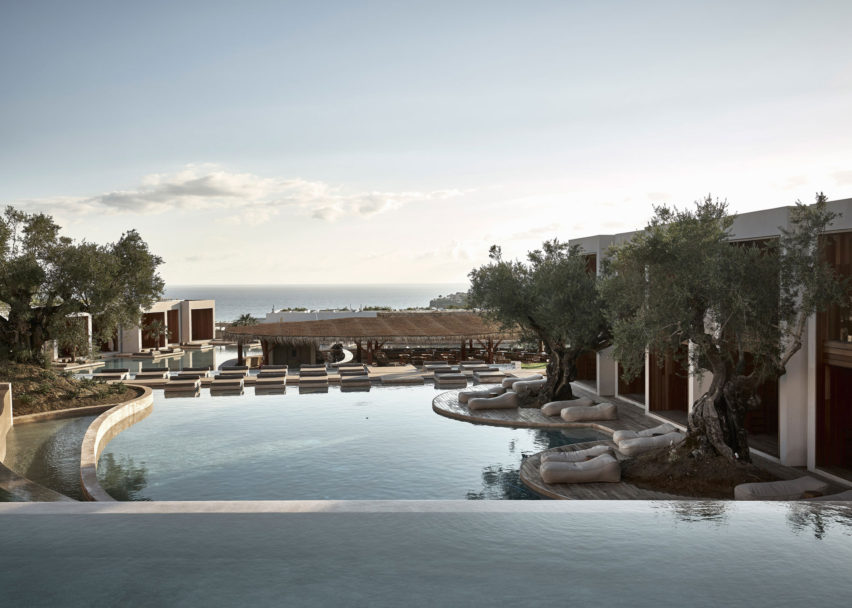 Olea Hotel, Greece, by Block722 Architects