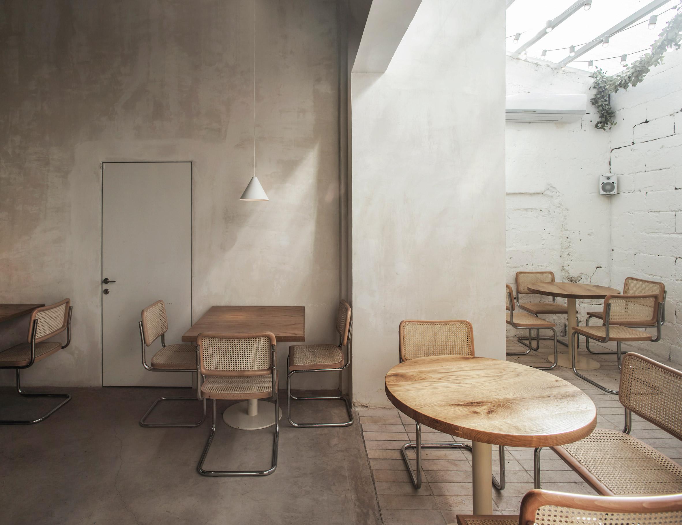 Interiors of Tel Aviv's Opa restaurant, designed by Craft & Bloom and Vered Kadouri