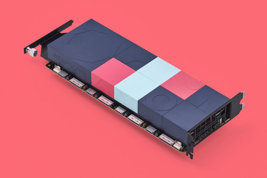 Pentagram and Map animate Graphcore's computer hardware with playful designs