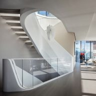 $50 million penthouse in Zaha Hadid's 520 West 28th revealed in new photos