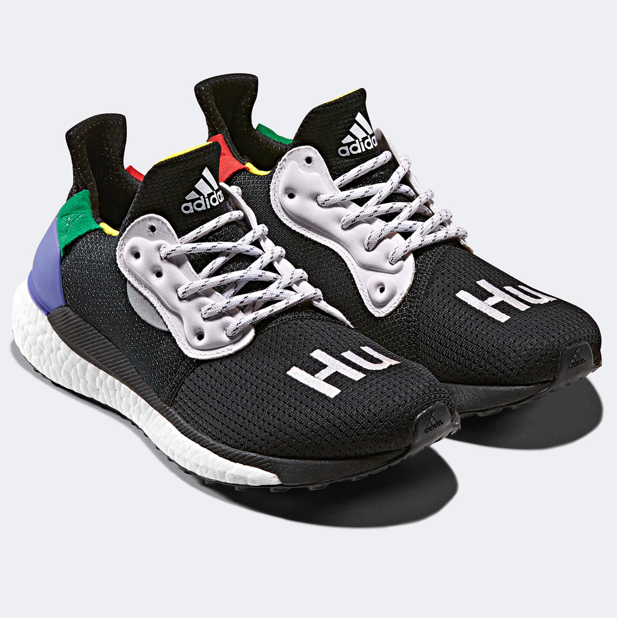purchase cheap 79d8f 54b22 Pharrell Williams' Solar Hu adidas collection is based on ...